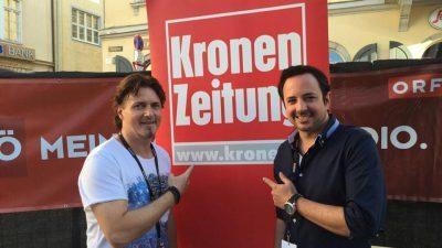 Herztattoo beim Kronefest Linz 2016