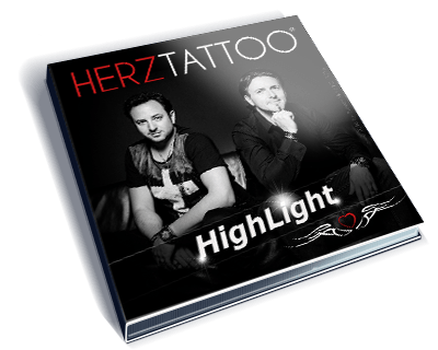 Single Cover Highlight 3select RMX von Herztattoo